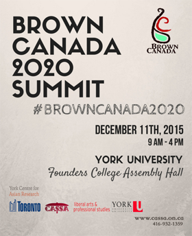 Poster of Brown Canada 2020 Summit