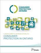 Newcomer's Introduction to Consumer Protection